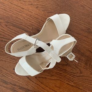 White wedges perfect for summer!!